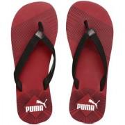 Puma Step In-Stripe Red Flip FlopsSTR
