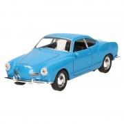 Goki Miniatuur model auto Karmann-Ghia Coupe blauw 11,3 cm