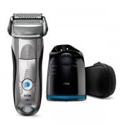 Braun brijaći aparat Series 7-7899 cc Clean & Charge, Wet & Dry, srebrni