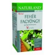 Naturland Fehér fagyöngy tea filteres, 25x1,5g