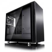Кутия за компютър Fractal Design Define R6 USB-C Blackout – TG, 3 x Dynamic X2 GP-14 140mm, черен, FD-CA-DEF-R6C-BKO-TGL