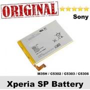 ORIGINAL SONY XPERIA BATTERY COMPATIBLE TO SP M35H M35 C5302 C5303 PILA Autetica 2300mAh WITH 1 MONTH WARANTEE 1 MONTH S