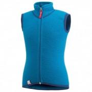 Woolpower - Kids Vest 400 - Gilet en laine mérinos taille 98/104, bleu