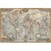 Political Map of the World - Educa Miniature 1000 Piece Puzzle by Educa