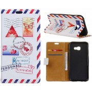 GSMWise - Samsung Galaxy Xcover 4 - Portemonnee Hoesje met Kaarthouder - Personal Love Mail Design