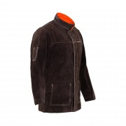 Welding Jacket - Split Cowhide Leather - Size XL