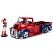 1952 Checy COE Pickup w/ Wonder Woman Figure
