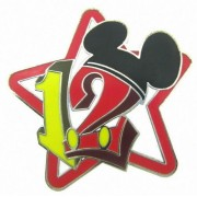 Alcoa Prime 2012 Disney Stars Mini Pin Collection White Star Pin