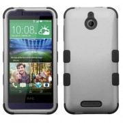 Funda Protector Triple Layer HTC One Desire 510 512 Gris / Negro