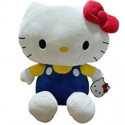 Hello Kitty Keychain Plush, Dark Blue (35cm)