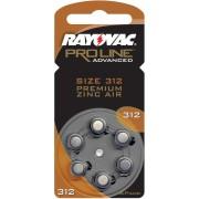 Baterii auditive zinc-aer Rayovac Proline 312