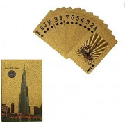 GENERIC HUB™ 24k Gold Foil Playing Cards -Burj Khalifa Design