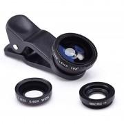 Set universal lentile pentru telefon 3 in 1