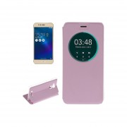 For Asus Zenfone 3 Max / Zc520tl Litchi Texture Horizontal Flip Leather Case(pink)