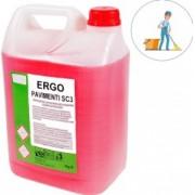 Detergent universal concentrat pentru pardoseli solutie concentrata de curatenie pentru suprafete 5 L Lindo Full roz