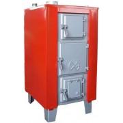 S 27A vegyestüzelésû lemez kazán nagy tûztér ajtóval 31 kW