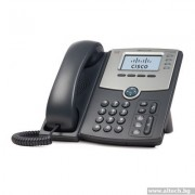 Phone, Cisco SPA504G, 4-Line, IP Phone With Display, PoE and PC Port