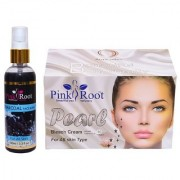 PINK ROOT PERAL BLEACH 250Gm - PR CHARCOAL FACE WASH