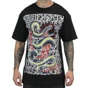 hardcore póló férfi gyermek - Mayo Snake - SULLEN - Mayo Snake-Blk