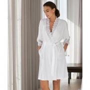 Rösch Spitzen-Kimono, 44 - Weiß