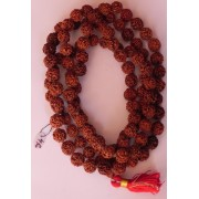 Rudraksha Mala - Nepal - 108 Beads - 4 Faces