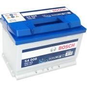 Bosch S4 12V 74Ah 680A Jobb+ autó akkumulátor