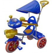 Oh Baby Baby Helicopter Bike Musical With Tubeless Tyre 2 In 1 Function Blue Color Tricycle For Your Kids SE-TC-45