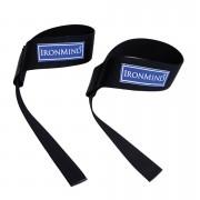 Ironmind Black & Fourth Lifting Straps Black