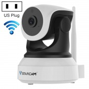 VSTARCAM C24 720P HD 1 0 megapixel draadloze IP-camera ondersteuning TF-kaart (128GB Max)/nachtzicht/bewegingsdetectie ons stekker