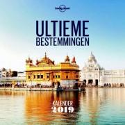 Kalender Ultieme bestemmingen kalender 2019 | Lonely Planet