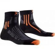 X-Bionic - ponožky X-SOCKS RUN SPEED TWO black Velikost: 42-44