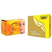 Nature's Essence Ravishing Mini Gold Kit 52g + 60ml Pink Root Orange Bleach 250g