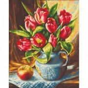Schipper Картина по номерам Букет Тюльпанов 24х30 см