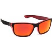 INVU Rectangular Sunglasses(Orange)