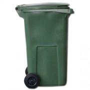 Popelnice 120 L zelená plastová za SUPER CENU