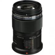 Olympus 60mm - f/2.8 ed m.zuiko macro - nero - 4 anni di garanzia