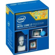 Intel i7 – 4771 Core processor (3,5 GHz, fitting 1150, 8 MB cache, 84 watt)