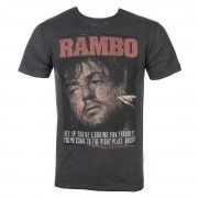 T-shirt Rambo pour hommes- Gimme Dat Sizzle - RAM570