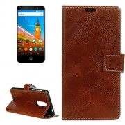 For Wileyfox Swift 2 Retro Crazy Horse Texture Horizontal Flip Leather Case with Holder & Card Slots & Wallet & Photo Frame (Brown)