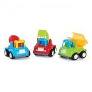 Pack 3 Veículos Pequenos Construtores