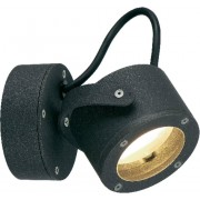 Lampă de perete de exterior, 9 W, GX53, antracit, SLV Sitra 360