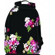 Sleevy laptop rugzak 17,3 Deluxe gekleurde bloemen