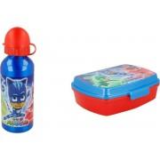 PJ Masks lunchbox / broodtrommel en aluminium drinkbeker 400ml NEW