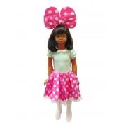 Set Minnie cu fusta roz