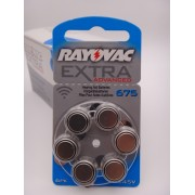 Baterii Rayovac 675 auditive 1.45V BLISTER 6 bucati PR44 UK