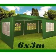 Zahradní párty stan Deu zelený, 3 x 6 m