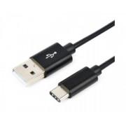 E-GREEN Kabl USB 2.0 A - USB tip C 3.1 MM 1M crni