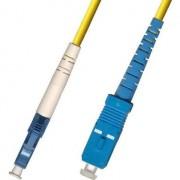 Patchcord światłowodowy LC/UPC - SC/UPC, 9/125, LSZH, 1m (FIB461001)