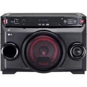 LG Om4560 Mini Hi Fi Bluetooth Potenza 220 Watt Subwoofer Incluso Lettore Cd / Mp3 Wma Radio Fm Usb Aux - Om4560