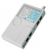 Tester retea UTP + RJ11 + BNC + USB